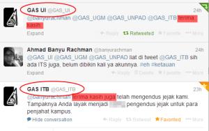 @GAS_UI: Terima kasih, @GAS_ITB: Terima kasih juga.