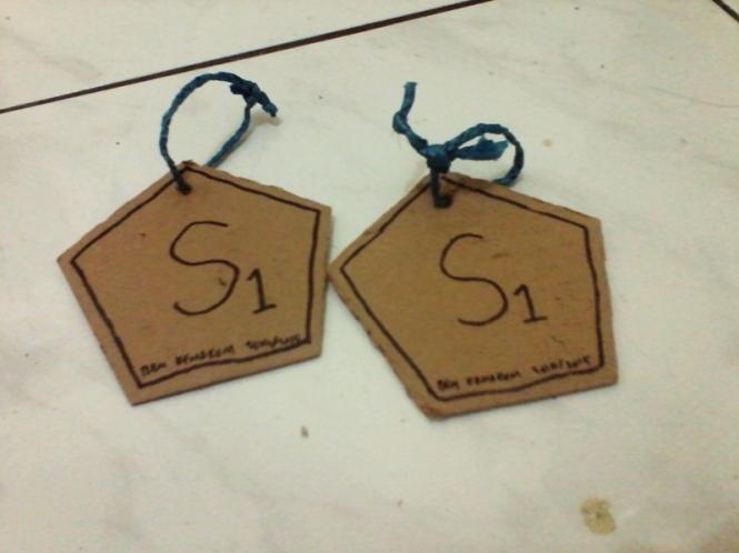 Medali yang didapatkan kelompok 7 dari pos 1 dan 2.