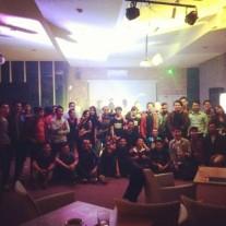 Muse Bandung setelah mini-tribute @Salis Hotel.