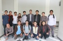 Berfoto bersama tim dari Microsoft Indonesia.