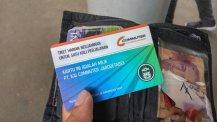 Kartu Commuter Line.