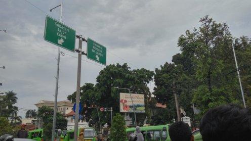 Tiba di Gerbang Utama KRB.